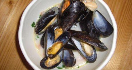 Muscheln bretonische Art