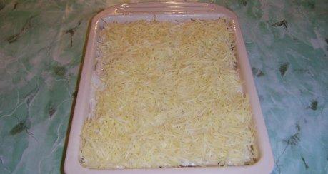 Béchamel-Sauerkraut-Lasagne