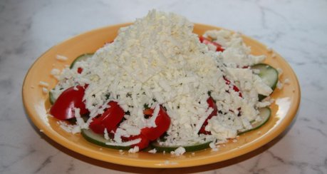 Schopska-Salat aus Bulgarien