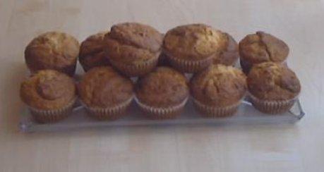 Ananas-Kokos-Schoko-Muffins