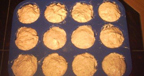 Super-schnelle Frühstückssemmeln in der Muffinsform