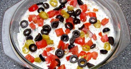 Schichtsalat Griechische Art