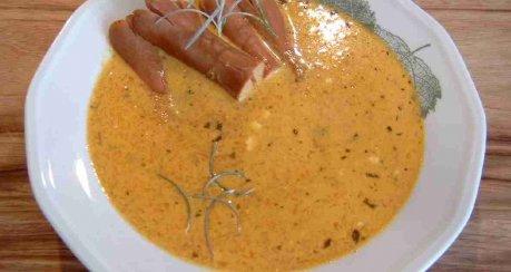 Möhren-Kohlrabi-Cremesuppe