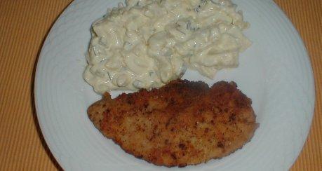 Kartoffelnsalat mit  Sekunden Mayonnaise