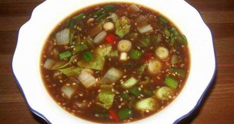 Vietnamesische Hühnersuppe (süß-sauer) - original!