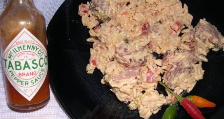 Reissalat auf Teufelsart