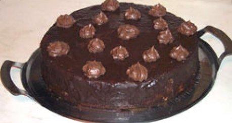 Süße Schokoladentorte
