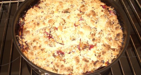 Pflaumen-Käse-Kuchen