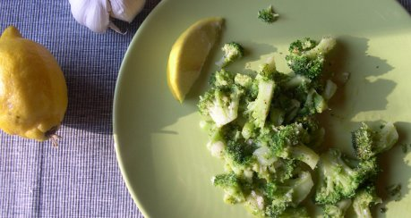 Italienischer Zitronen-Brokkoli