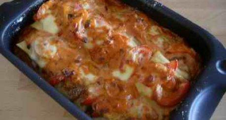 Maultaschen - Lasagne