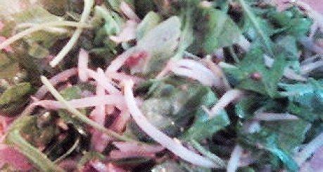 Salat mit Sesampaste (Goma Ae)