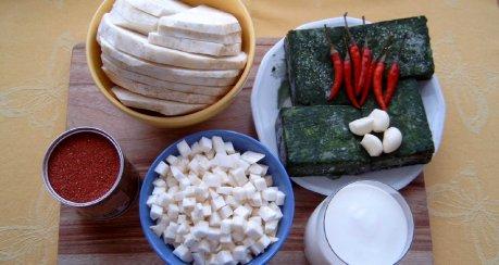 Sellerie Tandoori mit Blattspinat