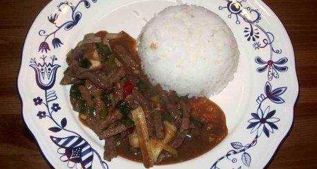 Rindfleisch Szechuan