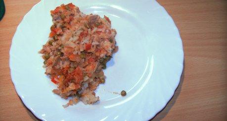 Thunfisch-Reis-Auflauf