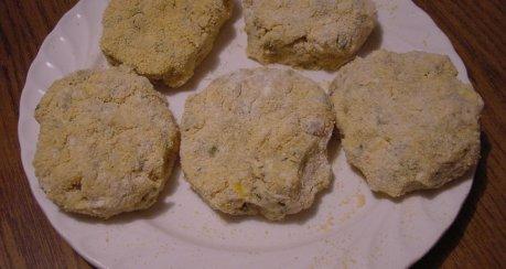 Püree-Gemüseburger mit Käse