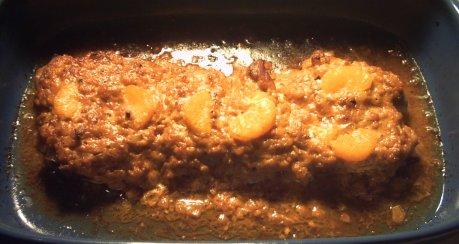 Überbackenes Schweinefilet mit Zwiebel-Senf-Kruste
