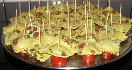 Pastasticks (Fingerfood) Rezept | Webkoch.de