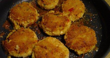 Couscous mit Gambas und Limetten-Joghurtsauce