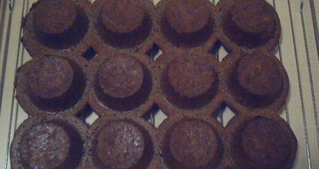 Dinkel-Quark-Muffins mit Nougat