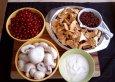 Rezept Preiselbeer-Pilz-Pfanne