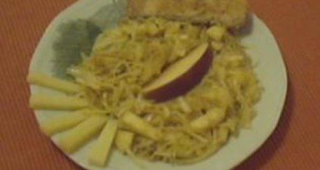 Weißkohl-Obstsalat (Krautsalat mit Apfel und...)