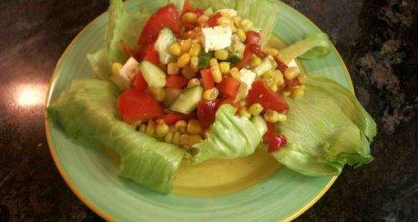 Salat nach Mexiko-Art