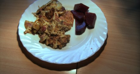 Bauernfrühstück vom Blech