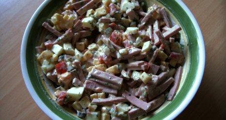 Gudrun´s bunter Wurstsalat