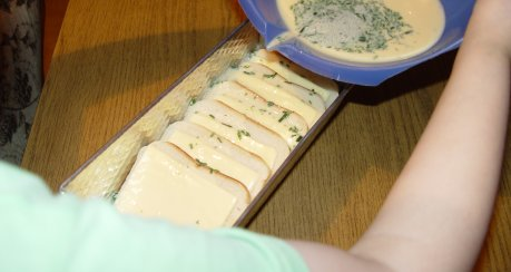 überbackenes Käsetoast (Kinderrezept)