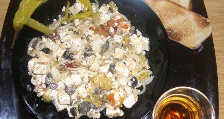 Feta-Salatsnack