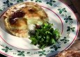 Rezept Pastete mit Kartoffeln, Fromi- Münsterkäse und Sauerampfersalat