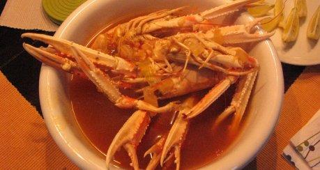 Zhong guo de Crawfish (chinesische Flußkrebse)