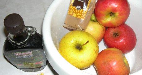 Apfel-Ahorn-Kompott (turboschnell)