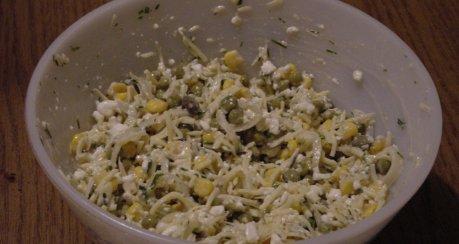 Allgäuer Salätle - Variation mit Gemüse
