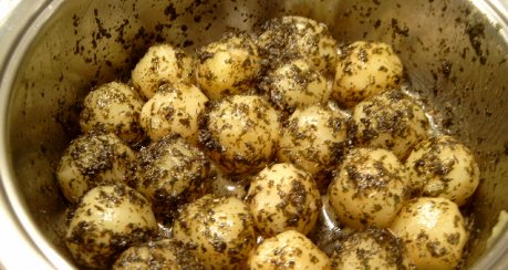 Petersilienkartoffeln a la Herbert D. (Schwenkkartoffeln)