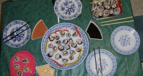 Gemischte Nori-Sushi