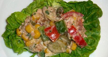 Pikanter Thunfischsalat