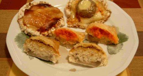 fish in the (mush-)room II: Variationen in Champignon und Fisch