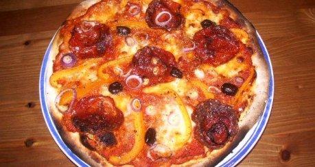 Pizza Diavola (Teufelspizza)