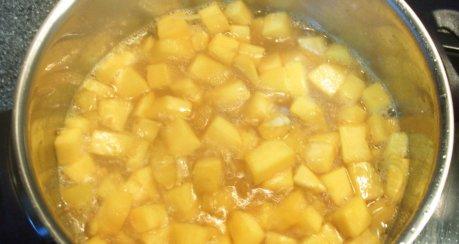 Curry-Kürbis (eingelegt)