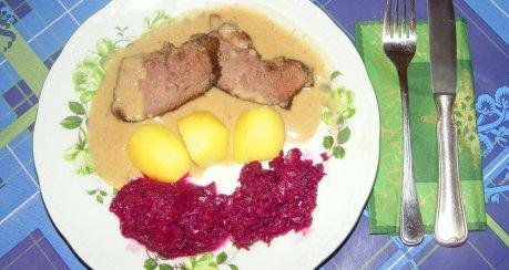 Hirsch(saft)braten für Feinschmecker