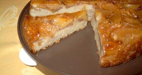 Apfel-Brot-Tarte
