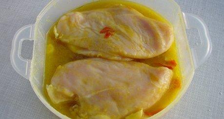 Rahmblumenkohl mit Kartöffelchen und Hähnchenbrustfilets