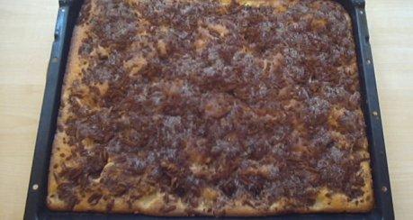 Schwedischer Apfelkuchen (Blechkuchen)