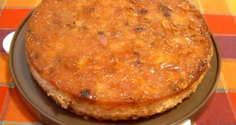 Apfel-Tarte mit Haferflocken