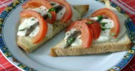 Knusprige Mozarella-Brote