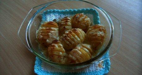 Hasselback Potatis (Schwedische Fächerkartoffeln)