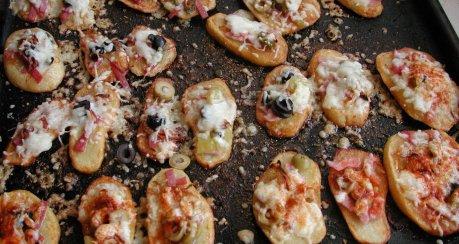 Mini-Pommes-Pizzen