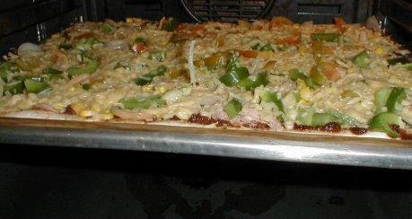 Pizza- und Brötchenteig