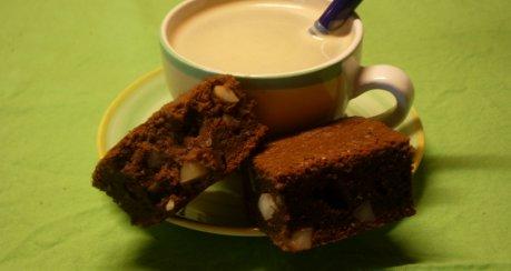 Macadamia - Kastanien - Brownies